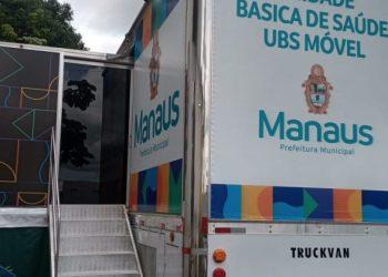 UBS Móvel 01 da Prefeitura de Manaus estará em novo endereço a partir de segunda-feira, 23