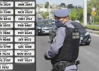 Polícia Militar recupera 19 veículos em situação de roubo e furto