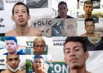 PC-AM solicita colaboração na divulgação da imagem de dez detentos que fugiram da 31ª DIP de Iranduba