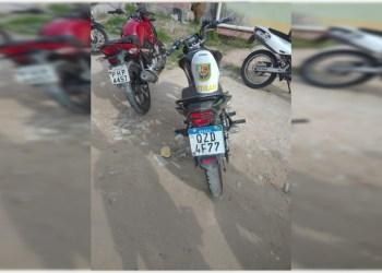 Durante operação Marfim na zona norte, PM recupera motocicleta roubada
