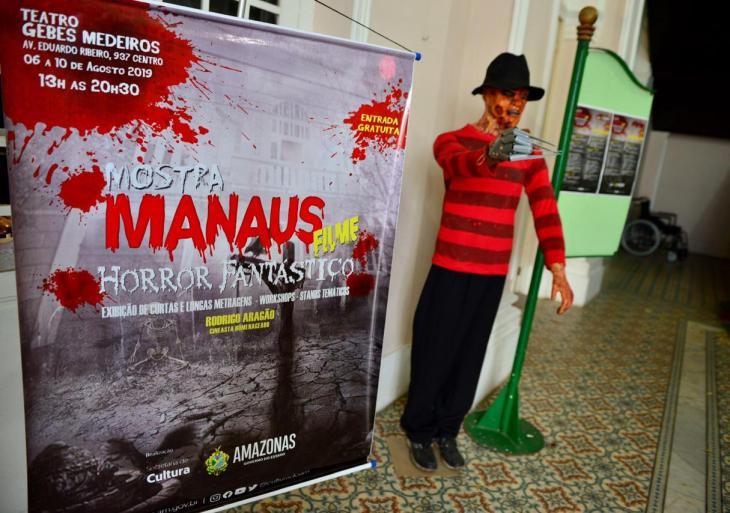 Segunda edição da mostra Manaus Filme Horror Fantástico tem inscrições prorrogadas