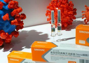 Caixas com potencial vacina da Sinovac contra Covid-19 em Pequim 04/09/2020 REUTERS/Tingshu Wang