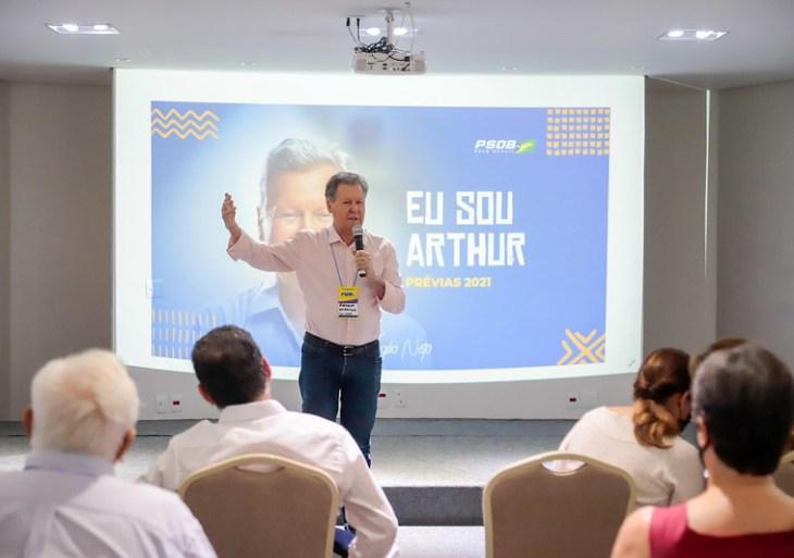 Arthur Virgílio afirma que seguirá com sua candidatura pela defesa da Amazônia e união do partido