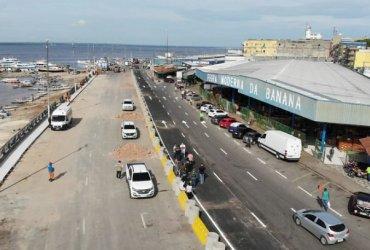 Prefeitura entrega ampliação da avenida Lourenço Braga na Manaus Moderna