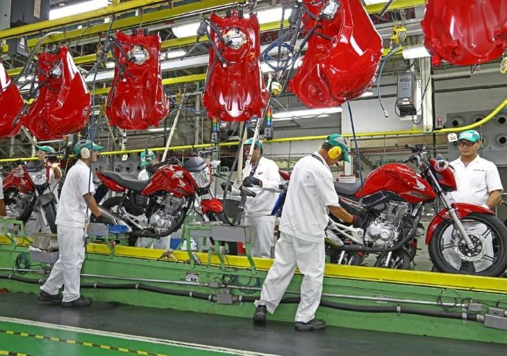 Exportação de motocicletas salta para 111% em relação a agosto de 2020