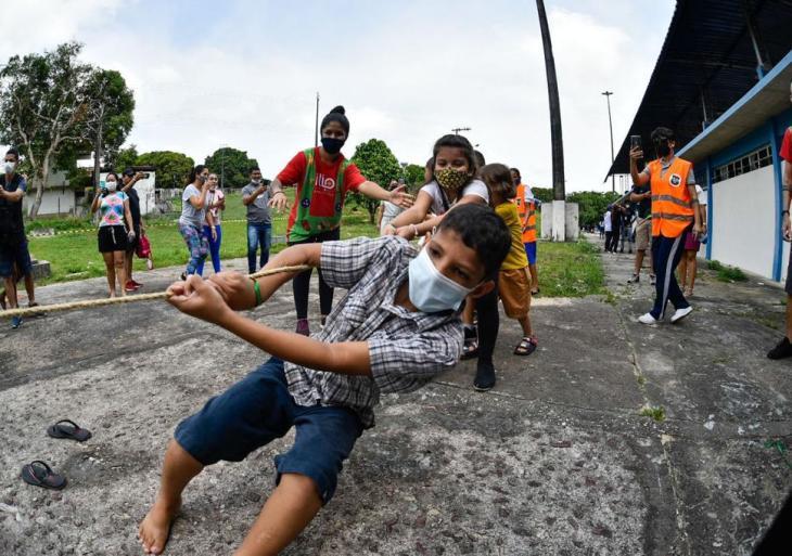'Brincando em Família na Vila' une esporte e diversão