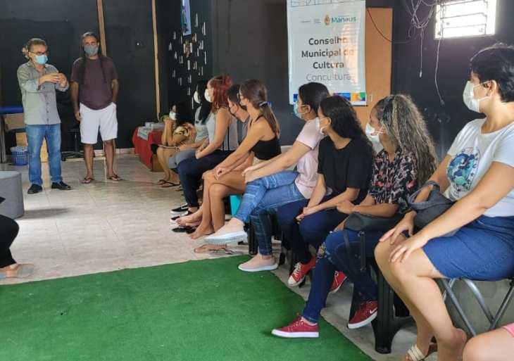 Santa Etelvina recebe oficina de Cultura da Prefeitura de Manaus