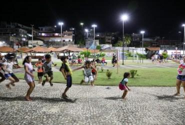 'Bora pro Parque' oferece lazer, cultura e esporte aos moradores da orla do São Raimundo