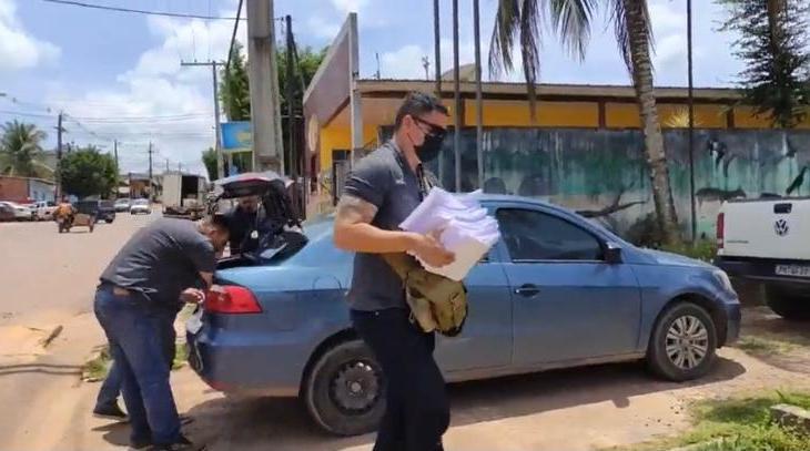 PC-AM deflagra Operação Auxílio Reclusão e prende três pessoas em Presidente Figueiredo