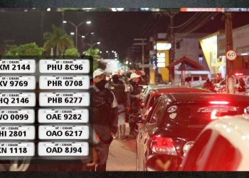 PMAM recupera 12 veículos roubados, em ações na capital