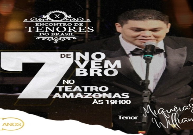 Encontro de Tenores do Brasil terá presença dos participantes do The Voice Kids