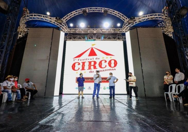 Festival de Circo do Amazonas é aberto com capacitação para classe artística