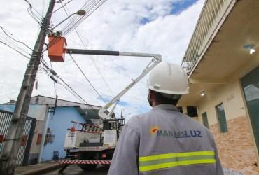Ageman notifica Manausluz por atraso de informações do contrato de iluminação pública