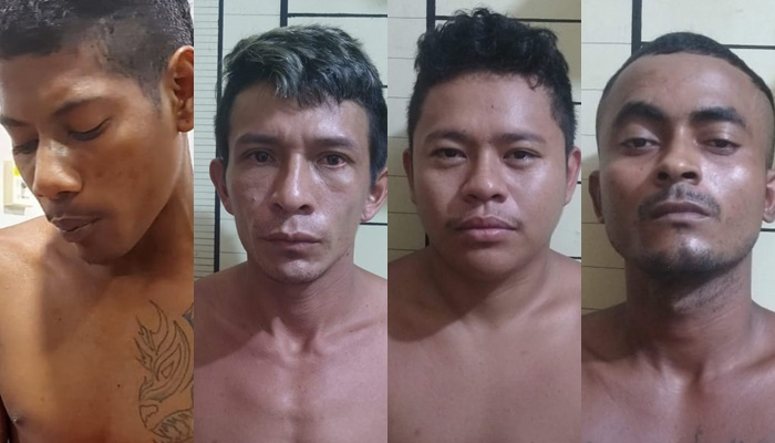 PC-AM solicita apoio na divulgação das imagens de quatro homens procurados por crimes distintos