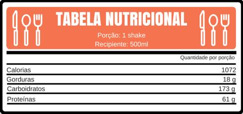 TABELA NUTRICIONAL proteina tropical