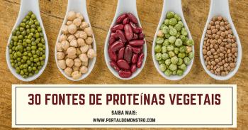 30 fontes de proteínas vegetais