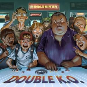 Capa de Double K.O (2014) - 11º Álbum da Banda.