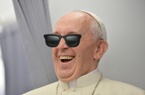 O papa manda recado: político cego não pode guiar povo cego