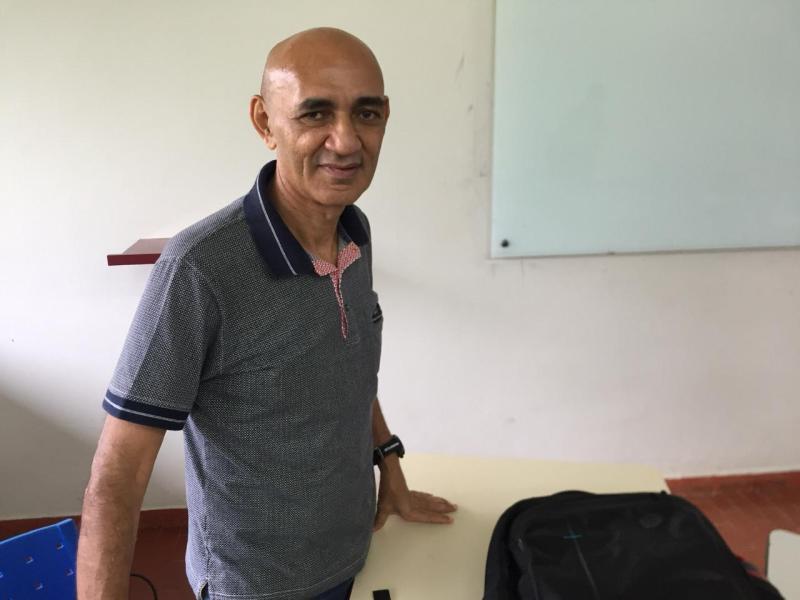 Carioca Nepomuceno retorna à Ufac para dar aula no curso de Ciências Politica
