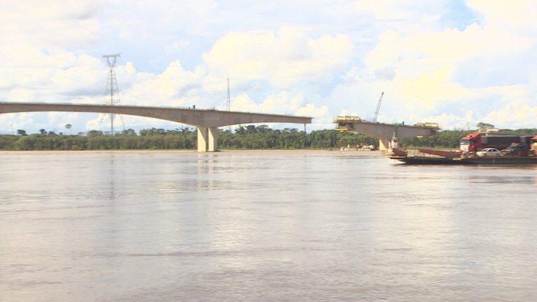 Obra da Ponte do Madeira, em Rondônia, corre risco de parar por orçamento insuficiente, diz Dnit