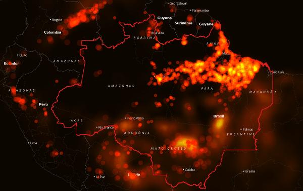 Queimadas incendeiam a Amazônia e ameaçam saúde e produção da população