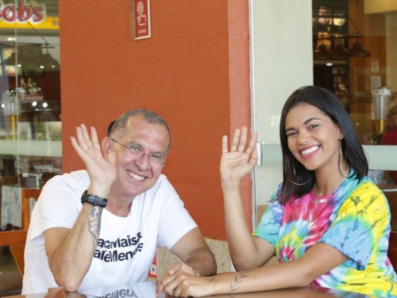 Jéssica Ingrede, a digital influencer com quase 160 mil seguidores, está no Beco sem Saida