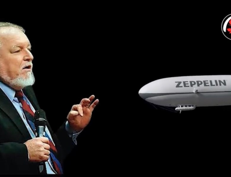 """Meteorologista trazido ao Acre por """"Genis"""" da política e do Agronegócio diz que problemas de transporte no Acre podem ser resolvidos com Zepelim"""