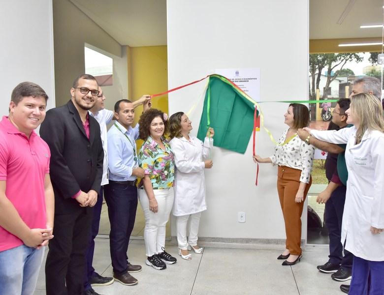 Socorro Neri inaugura moderno Centro de Apoio e Diagnóstico de Rio Branco
