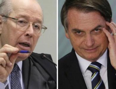 Celso de Mello abre inquérito no STF contra Jair Bolsonaro