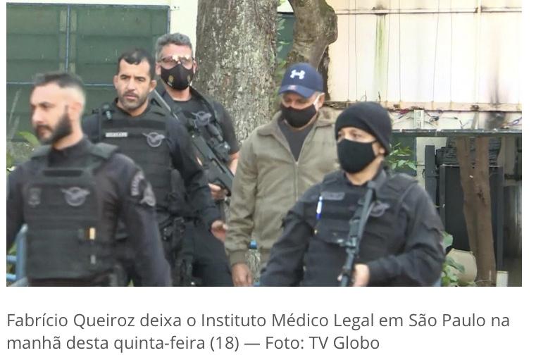 Fabrício Queiroz, ex-assessor de Flávio Bolsonaro, é preso em Atibaia, SP