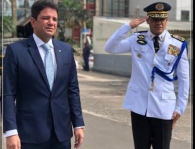 """""""Eu é que não queria mais o Ulisses"""", diz governador sobre ex-comandante da PM"""