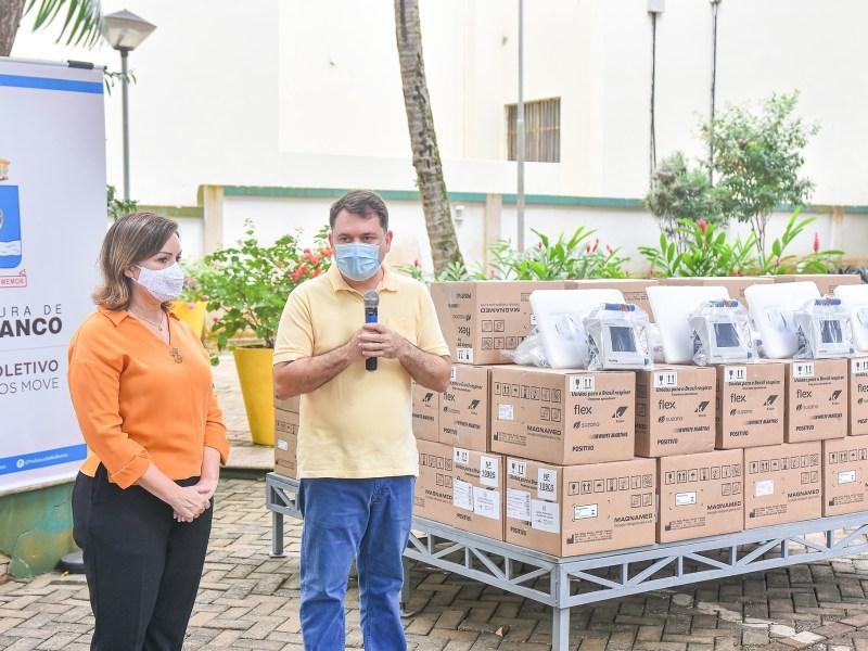 Covid-19: Prefeitura de Rio Branco doa 68 ventiladores de transporte para o governo do Estado