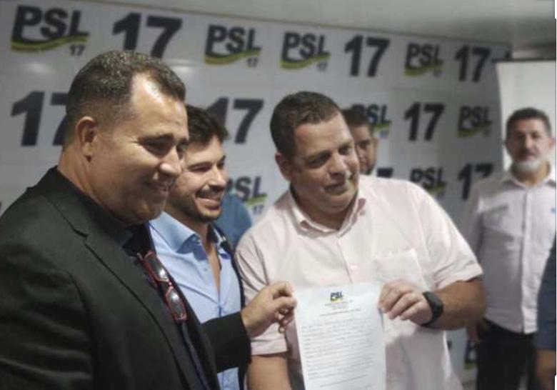 """""""Quem decide sobre candidatura na capital é o vice-governador"""", diz presidente do PSL"""