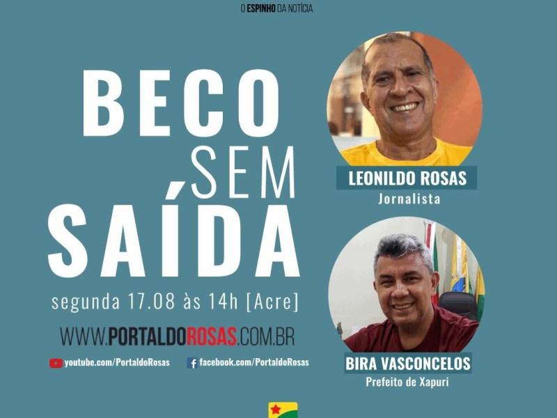 Bira Vasconcelos diz que adversários querem vencê-lo no tapetão