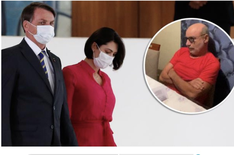 Queiroz depositou R$ 72 mil em 21 cheques na conta de Michelle Bolsonaro: Bolsonaro mentiu