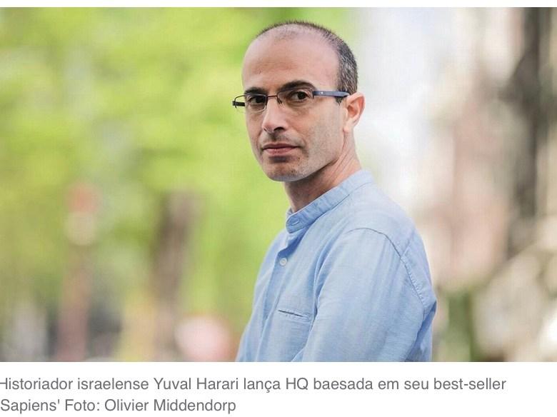 Yuval Harari: 'Temos conhecimento para derrotar a Covid-19. Se falharmos, é culpa dos políticos'