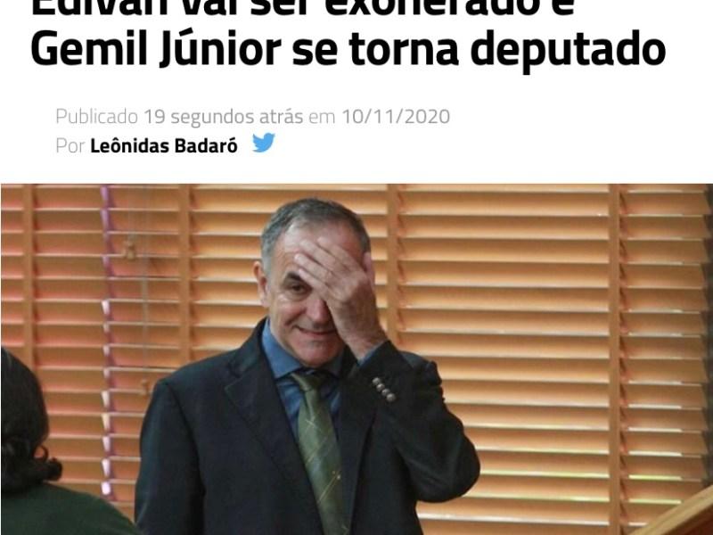 Site 'porta-voz' do governo confirma informação dada pelo Portal do Rosas: Edvan Maciel será exonerado da Sepa