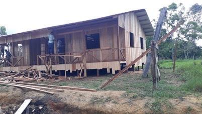 FCCV inicia construção de escola na comunidade rural de Santa Bárbara