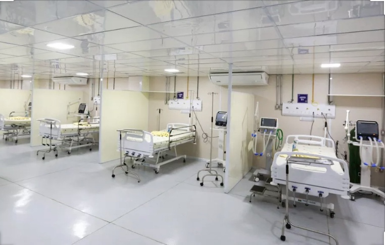 No momento em que a Saúde caminha para o caos, Estado perde leitos de UTI, informa Portal G1
