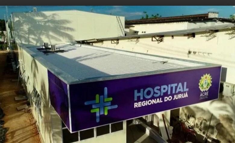 Em 12 horas, Hospital de Campanha do Juruá registra 3 mortes por Covid-19