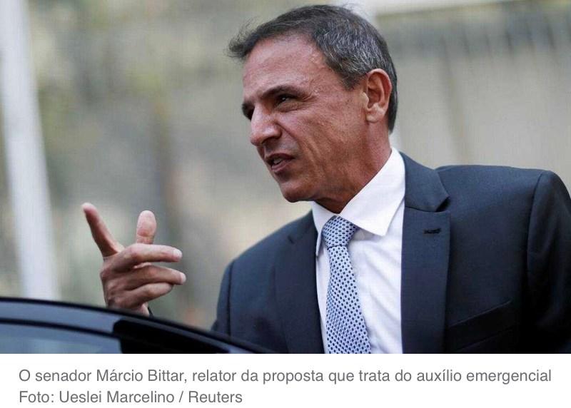 Acre elege Marcio Bittar para tirar dinheiro da Saúde e da Educação de mais de 200 milhões de brasileiros