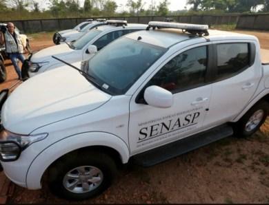 Camionetes adquiridas pela Segurança Pública do Acre estão paradas por falta de revisão