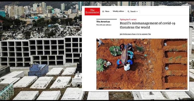 "The Economist: Bolsonaro apregoa ""cura charlatanesca"" contra Covid-19 e ameaça o mundo"