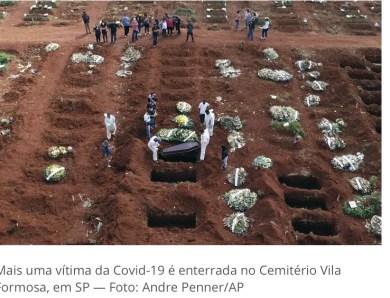 Pandemia fez brasileiro perder quase 2 anos na expectativa de vida ao nascer, aponta estudo preliminar