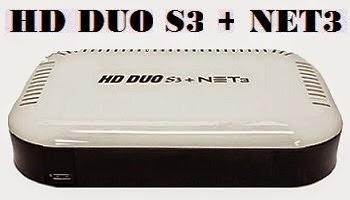Resultado de imagem para FREESATELITAL HD DUO S3 NET3