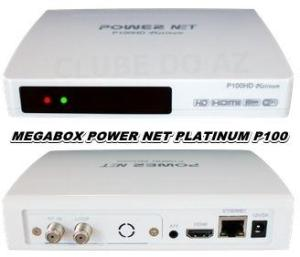 ATUALIZAÇÃO MEGABOX PLATINUM P100 HD - 16/04/2015
