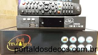 TELESAT ORION HD IPTV 3 TURNERS