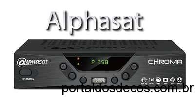 Alphasat Chroma Atualização V8.01.26.S18 26-02-2016
