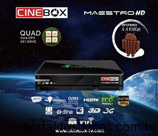 Resultado de imagem para CINEBOX MAESTRO