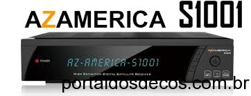 AZAMERICA S1001 HD ATUALIZAÇÃO